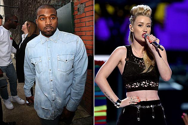 Kanye West Iggy Azalea