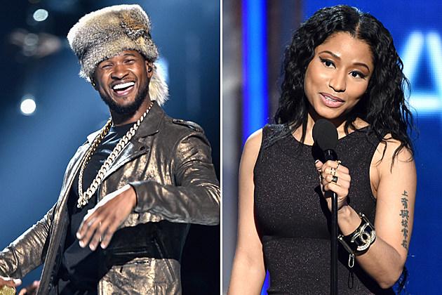 Usher Nicki Minaj