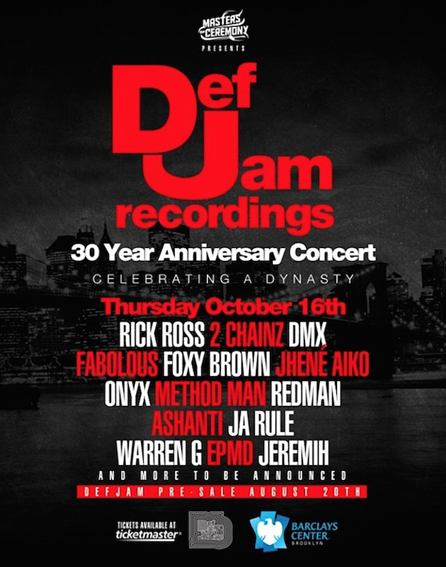 Def Jam 30th Anniversary Concert