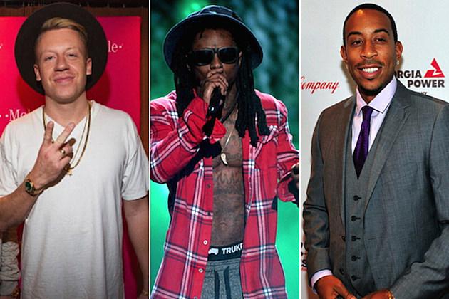 Macklemore Lil Wayne Ludacris
