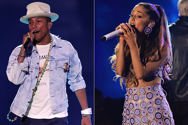 Pharrell Williams Ariana Grande