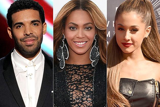 Drake Beyonce Ariana Grande