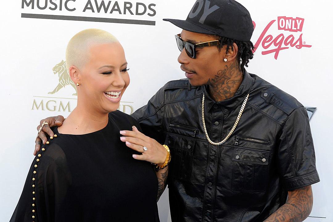Wiz Khalifa's Child Custody Battle With Amber Rose Gets Heated