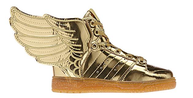 jeremy scott x adidas originals js wings 20 �gold�