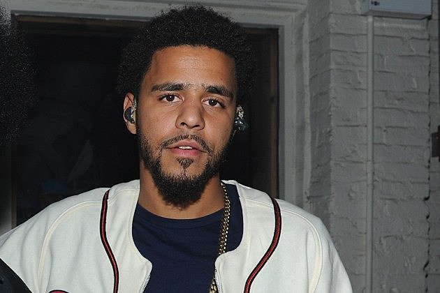 J Cole 2014 Hair J. Cole Visits Fan's H...