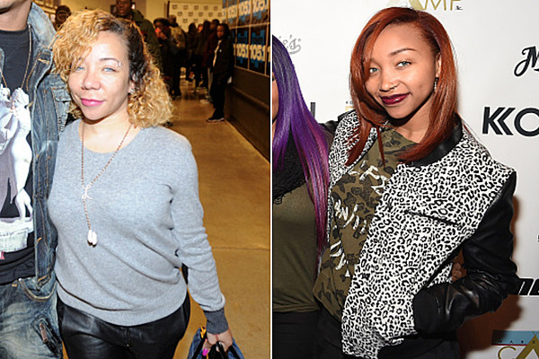 Did tiny s daughter zonnique permanently change her eye color
