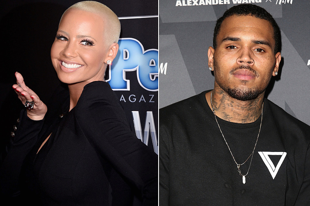 C breezy is dating amber