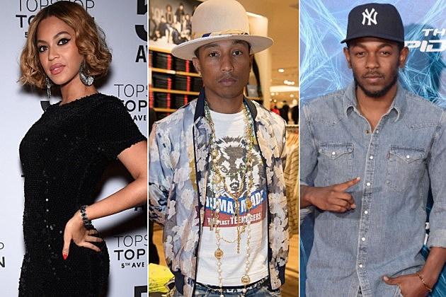 Beyonce Pharrell Kendrick Lamar