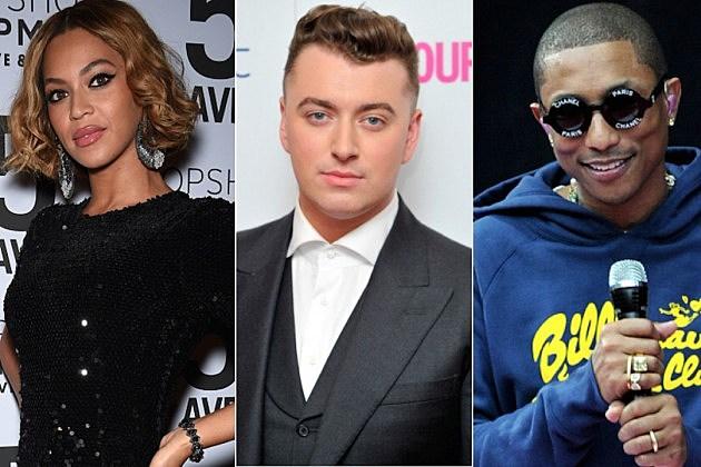 Beyonce-SamSmith-Pharrell