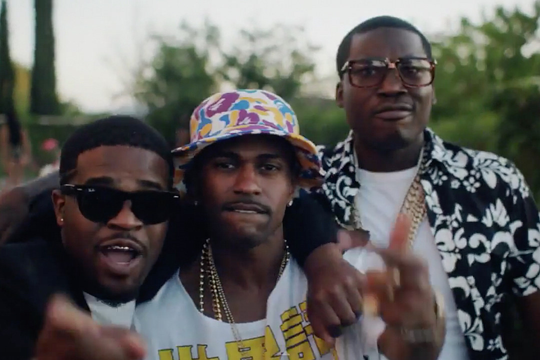 Meek Mill Flosses With Big Sean A$AP Ferg in 'B Boy' Video