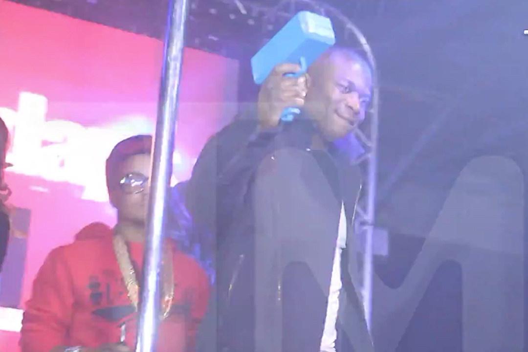 O.T. Genasis Makes It Rain in the Strip Club With a Money Gun [VIDEO]
