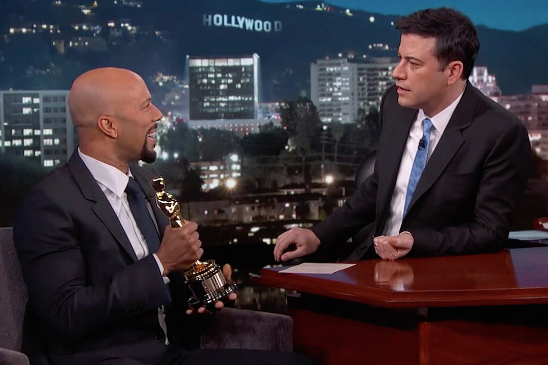 Common Discusses Oprah Diss, Jay Z's Reaction to His Oscar Win on 'Jimmy Kimmel' [VIDEO]