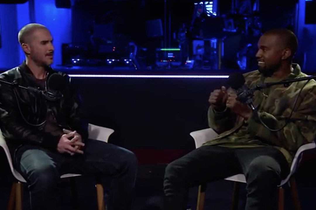 Kanye West Cries During Expansive Interview with Zane Lowe [VIDEO]