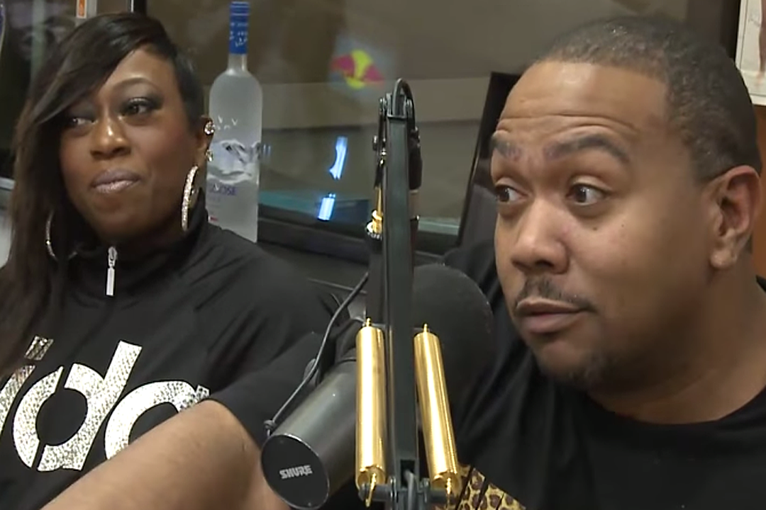 Missy Elliott and Timbaland Go Back to the Drawing Board in Studio