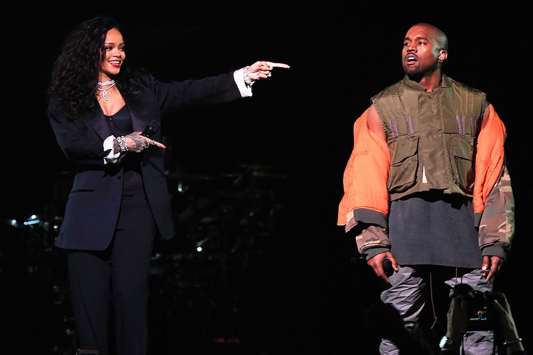 Rihanna Kanye West Rock DirecTV's Pre-Super Bowl Party [VIDEOS]