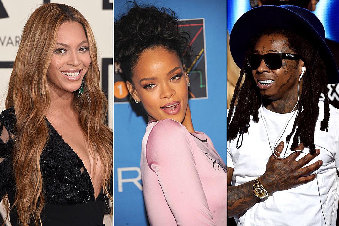 Beyonce Rihanna Lil Wayne