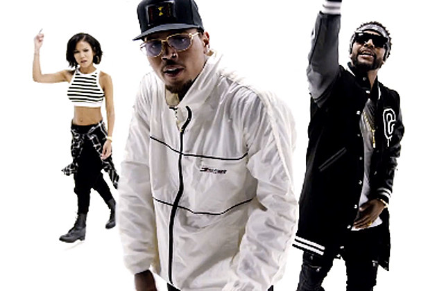 50 Cent and Chris Brown Deliver Sexy Video for Im the Man (Remix) news