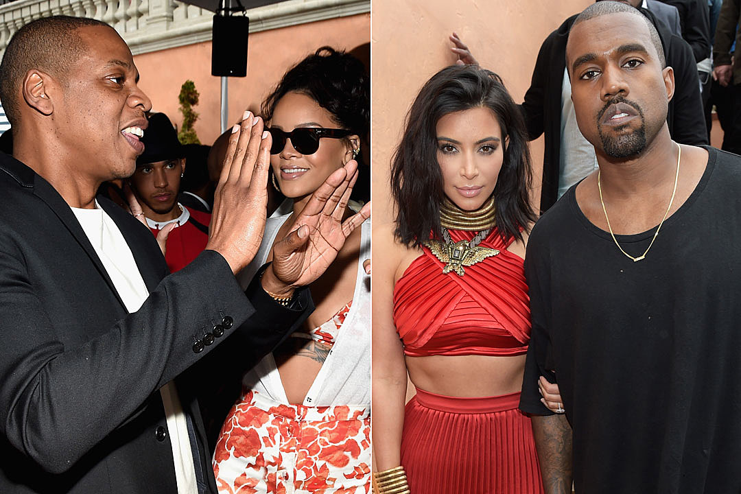 Jay Z, Rihanna, Kanye West, Kim Kardashian More Attend Roc Nation Pre-Grammy Brunch 2015 [PHOTOS]