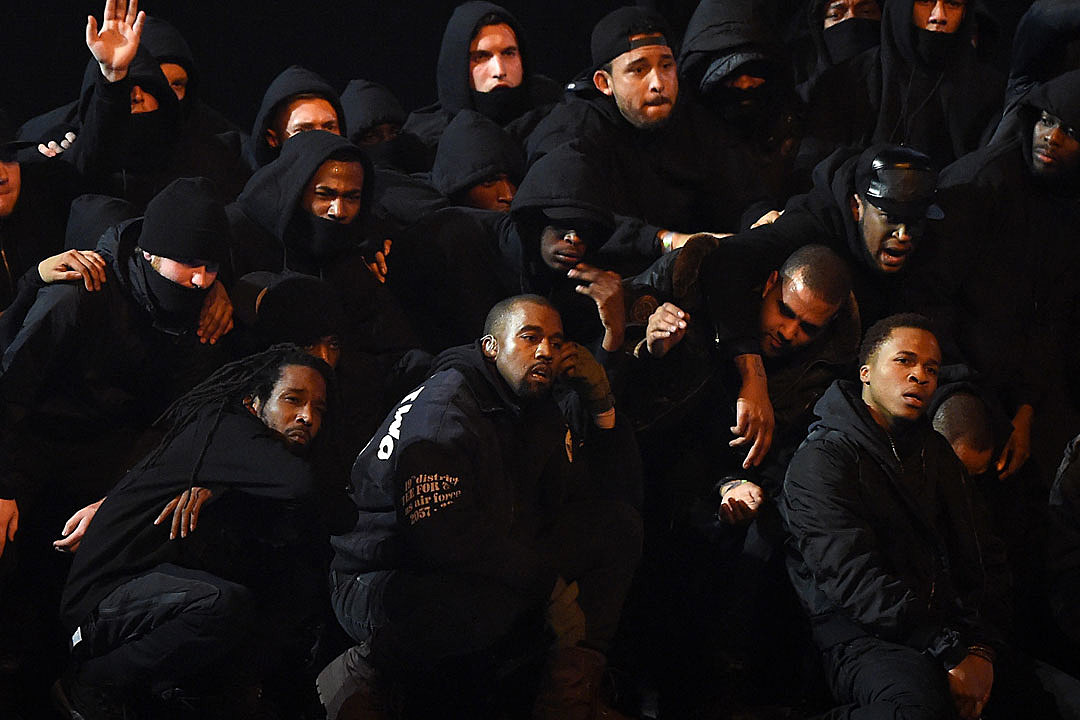 Kanye West Performs 'All Day' at 2015 BRIT Awards [VIDEO]