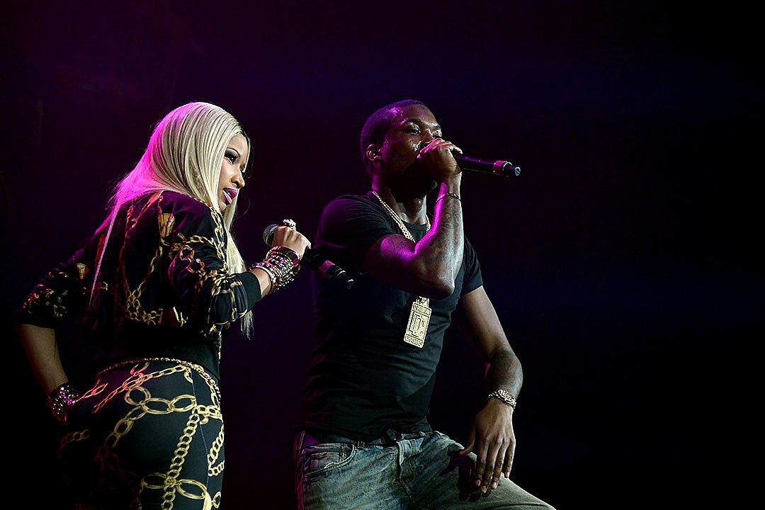 Nicki Minaj Teases Relationship With Meek Mill in New Photo