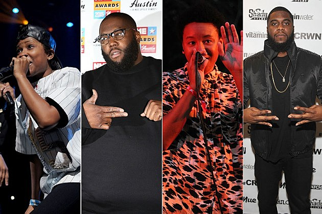 Dej Loaf, Killer Mike, THEESatisfaction, Big K.R.I.T.