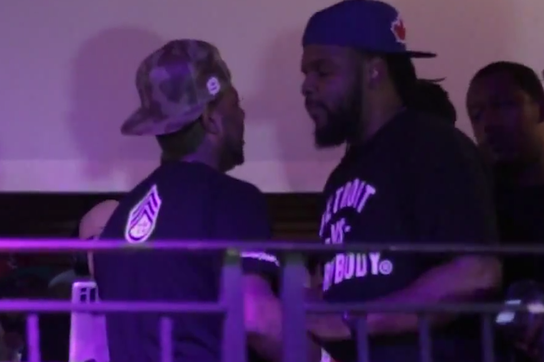 Hustle Simmons Attacked by Bleu Davinci's Crew at SXSW 2015 [VIDEO]