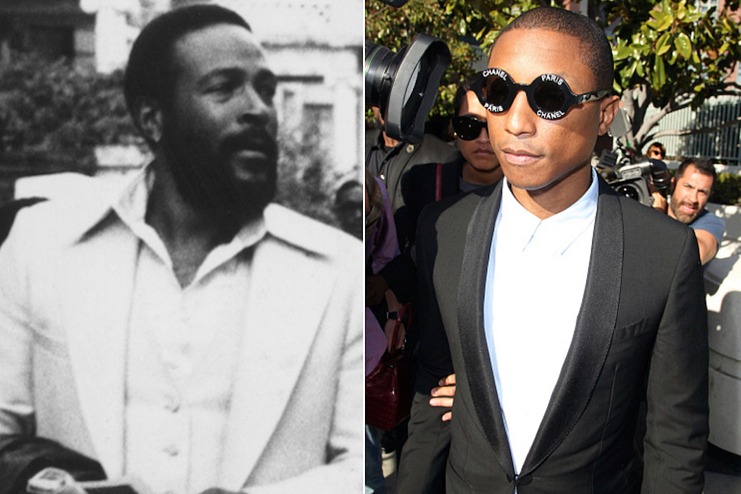 Marvin Gaye Family Not Planning to Sue Pharrell Over 'Happy' [VIDEO]
