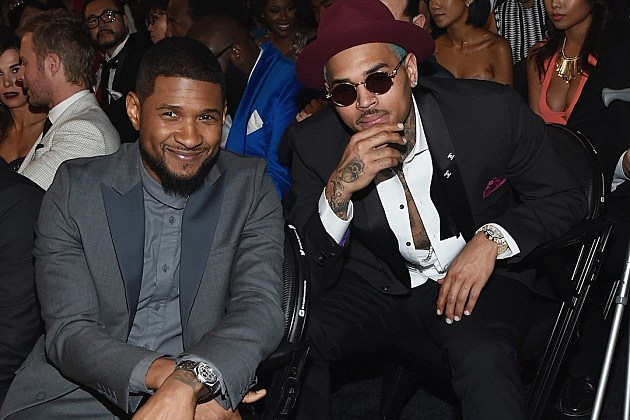 Usher Chris Brown