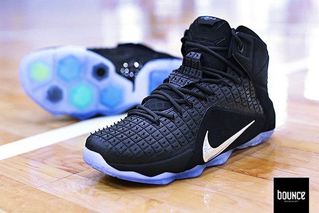 ... nike lebron 12 ext rubber city