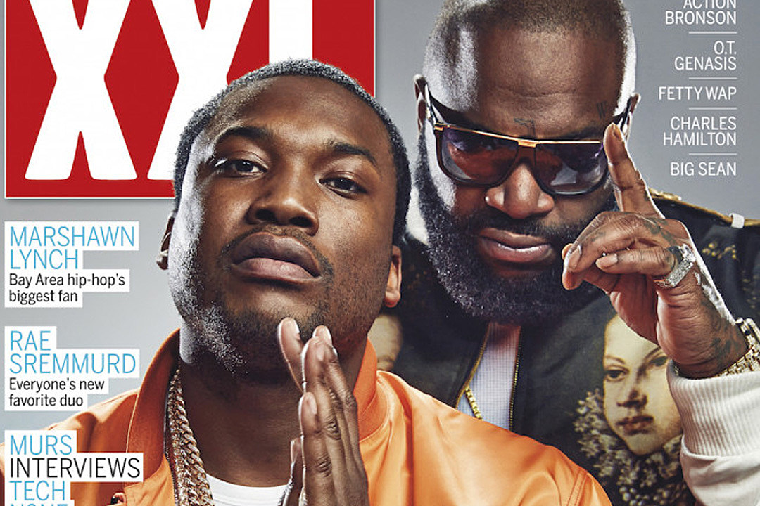 Meek Mill and Rick Ross Score XXL Spring 2015 Cover