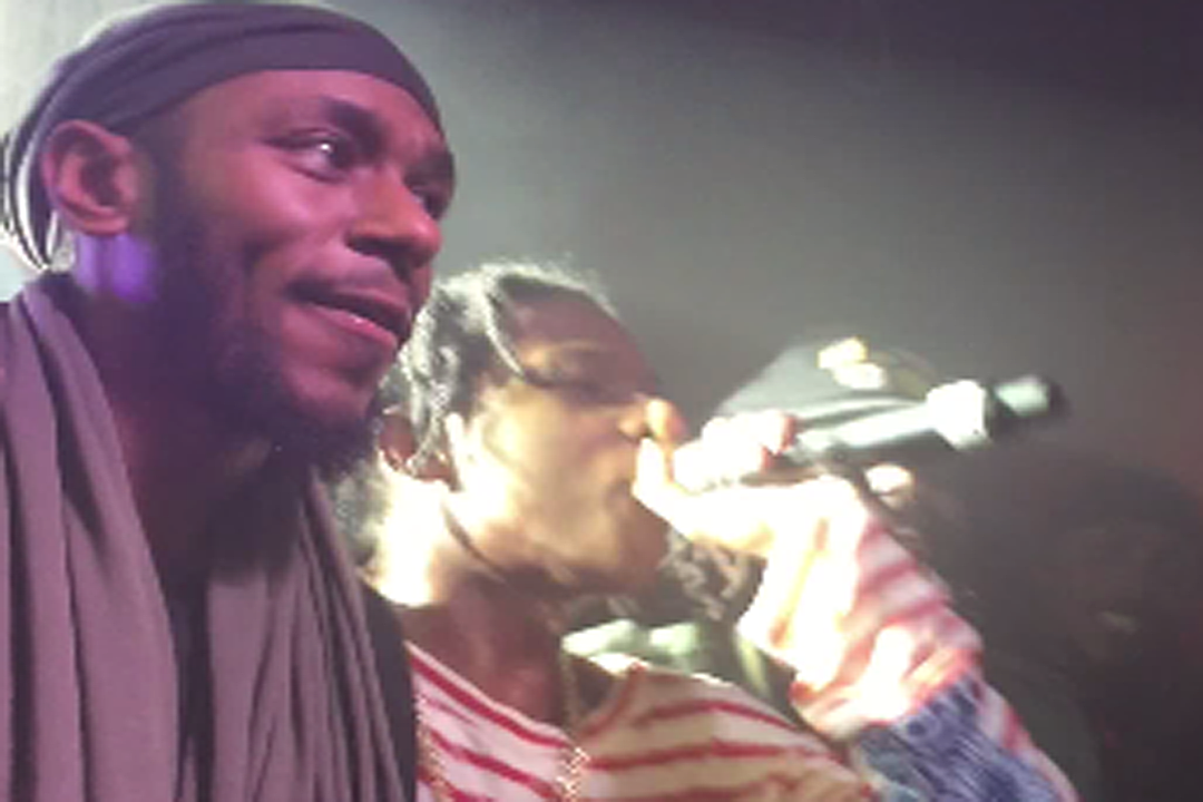A$AP Rocky Surprises Fans by Bringing Out Yasiin Bey at London Show [VIDEO]