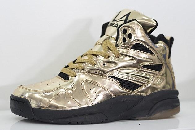 Tyga Liquid Gold Shoe