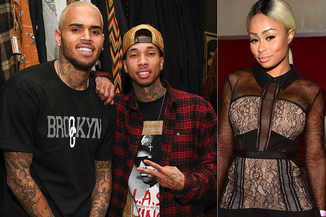 Chris Brown Tells Blac Chyna to 'Chill Out' With Feud Against Tyga and Kylie Jenner