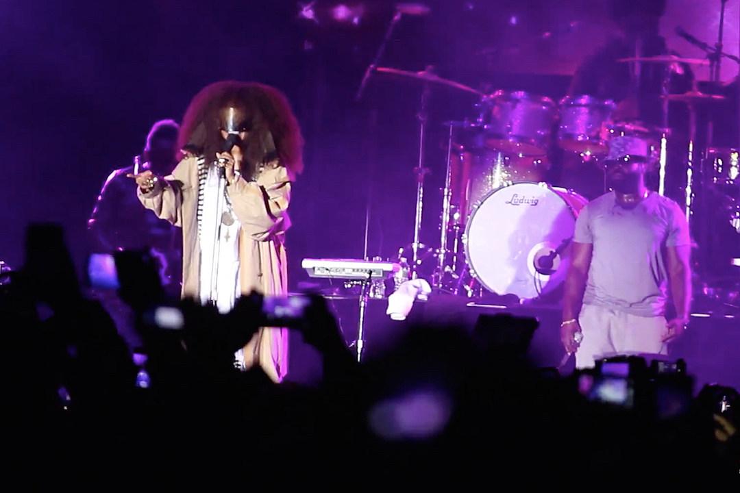 Erykah Badu the Weeknd Rock 2015 Roots Picnic [VIDEOS]