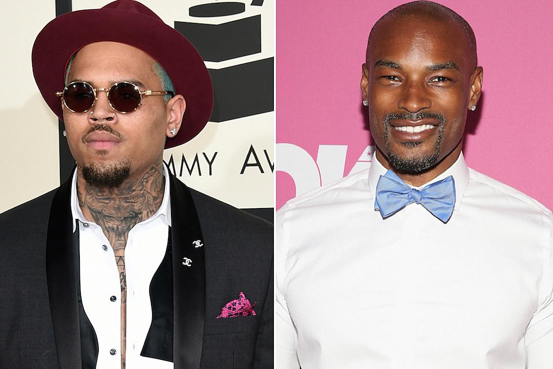 Chris Brown Threatens Tyson Beckford Over Karrueche Tran Photo