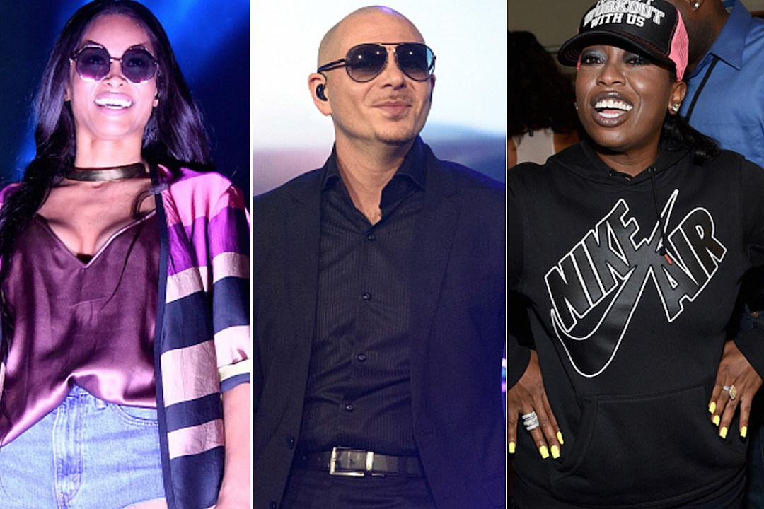 Ciara Taps Pitbull Missy Elliott for 'That's How I'm Feelin