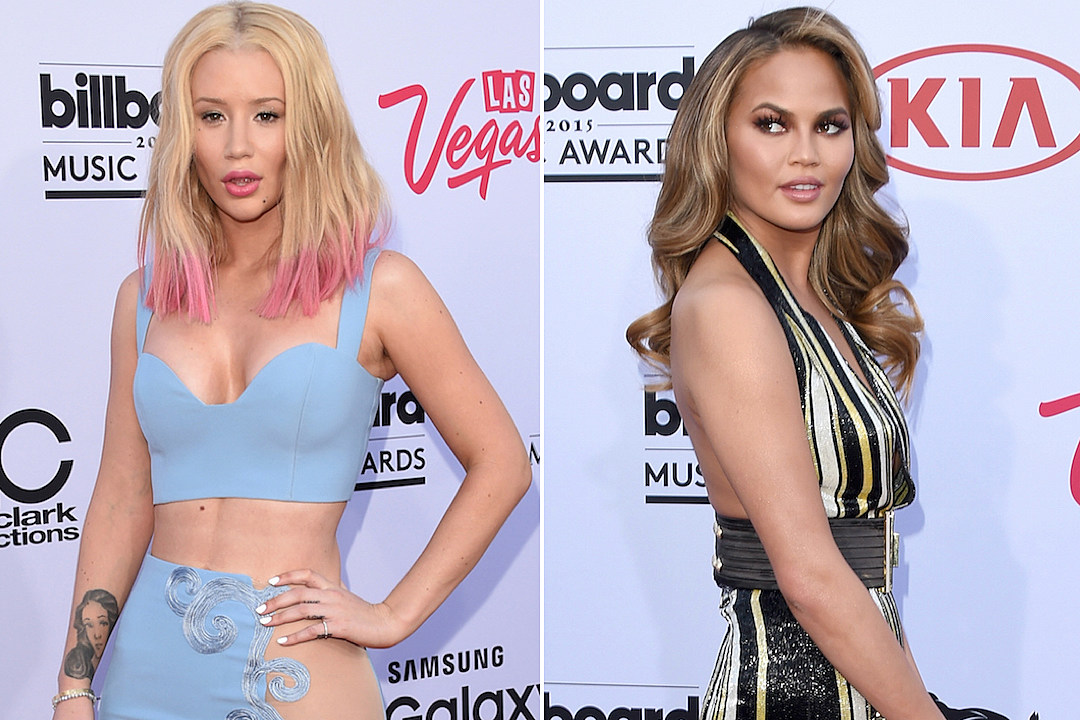 Iggy Azalea Receives Major Shade From Chrissy Teigen on 2015 Billboard Music Awards Red Carpet [VIDEO]