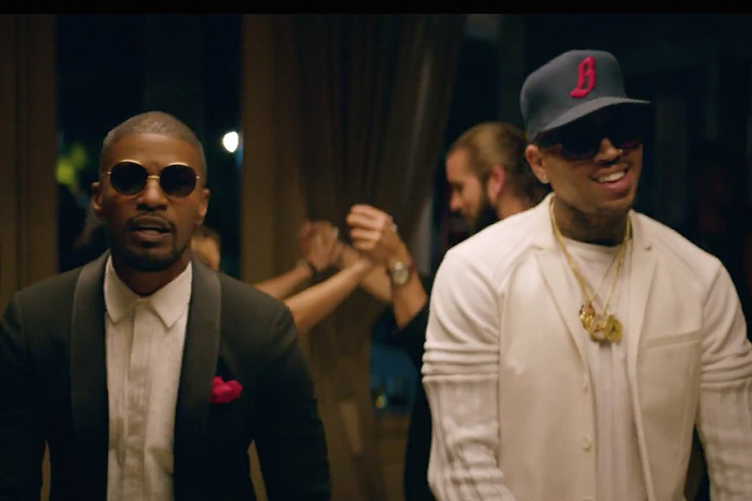 Jamie Foxx Chris Brown Are Ready to Settle Down in 'You Changed Me' Video