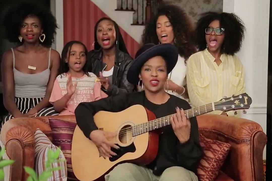 Lauryn Hill Performs Acoustic Version of 'Doo Wop' for Nigeria [VIDEO]