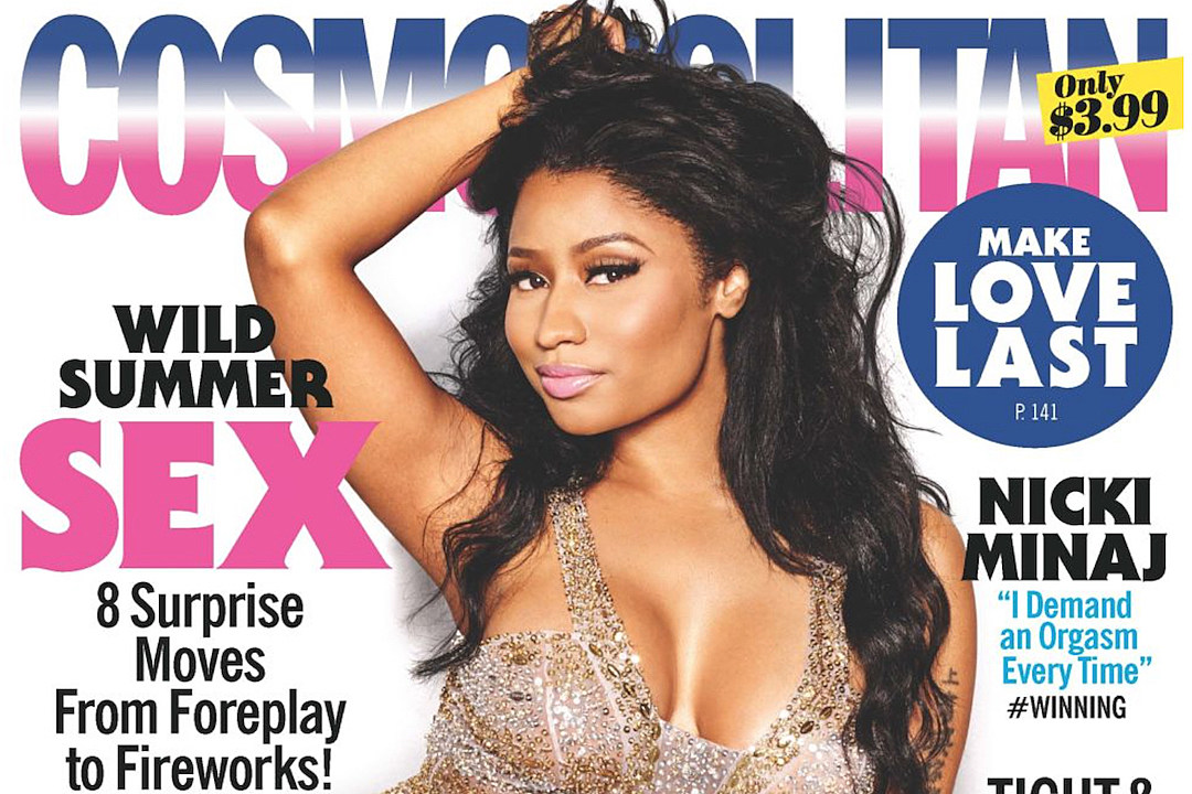 Nicki Minaj Talks Sex Life With Cosmopolitan: 'I Demand an Orgasm Every Time'