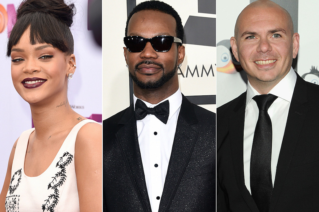 Rihanna, Juicy J, Pitbull More Salute the Troops on Memorial Day