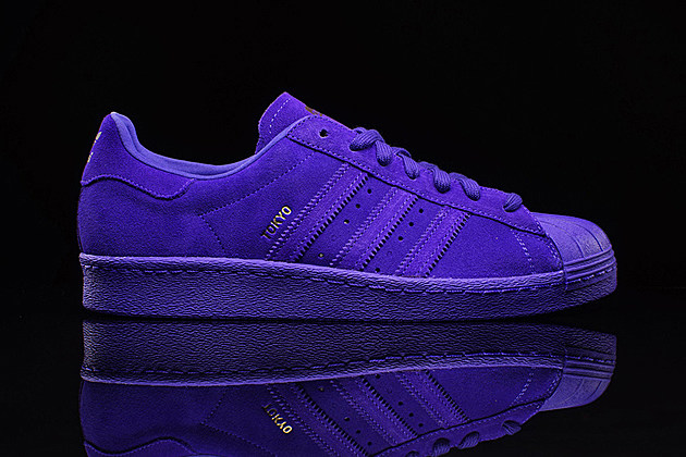 superstar 80s mens purple