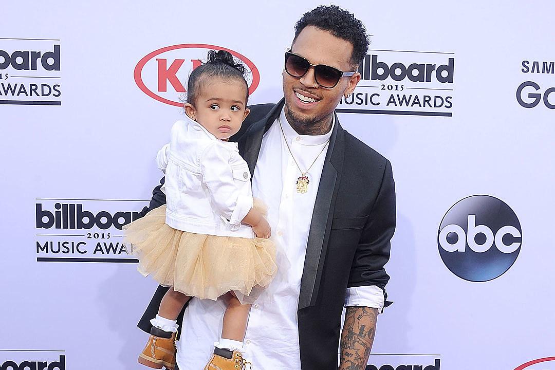 Chris Brown Brings Daughter as Date to 2015 Billboard Music Awards [PHOTO]
