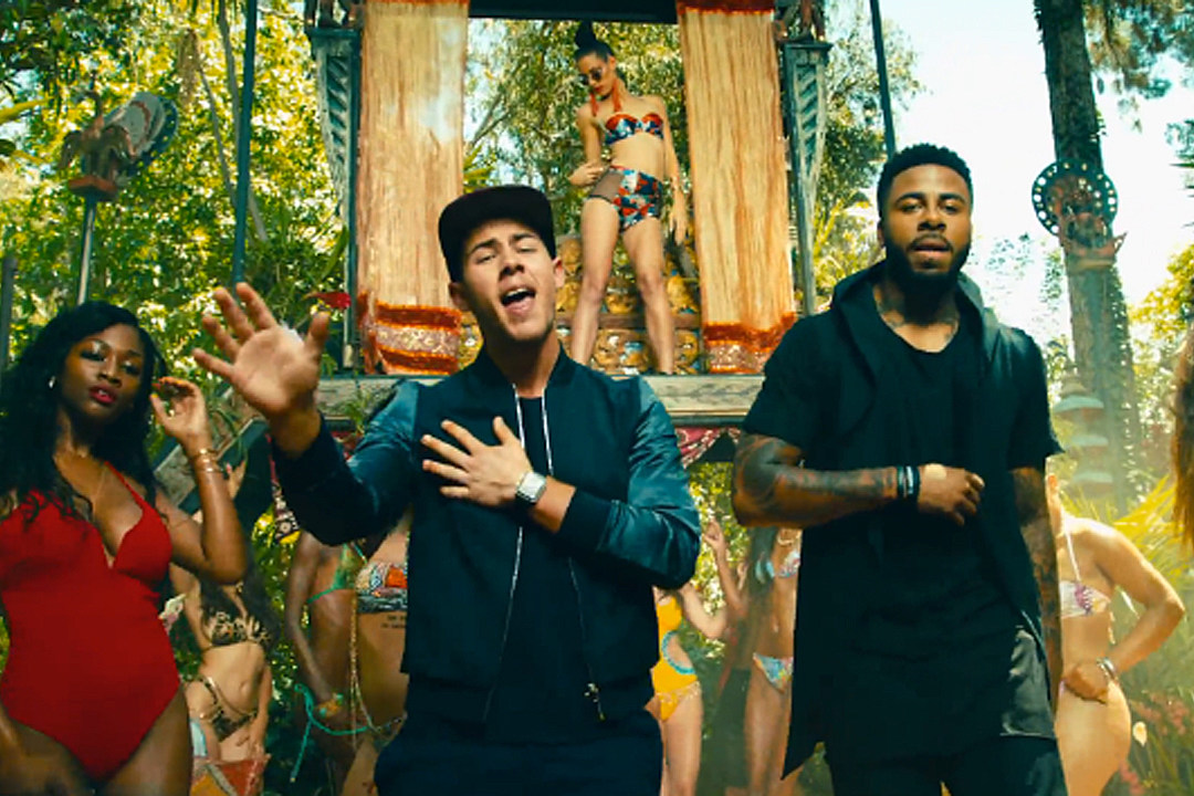 Sage the Gemini and Nick Jonas Get Wild in 'Good Thing' Video