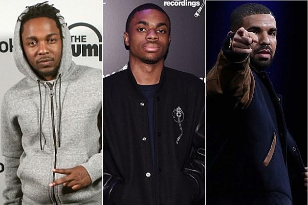 Kendrick Lamar Vince Staples Drake
