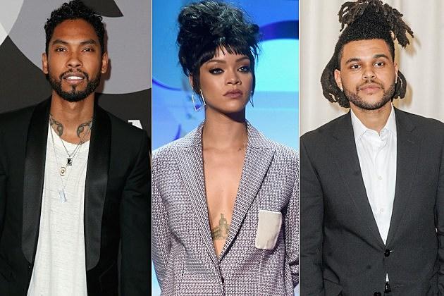 Miguel Rihanna Weeknd