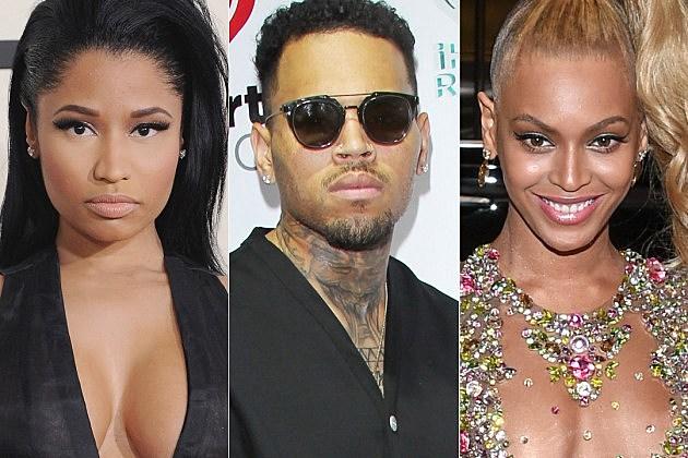 Nicki Minaj Chris Brown Beyonce