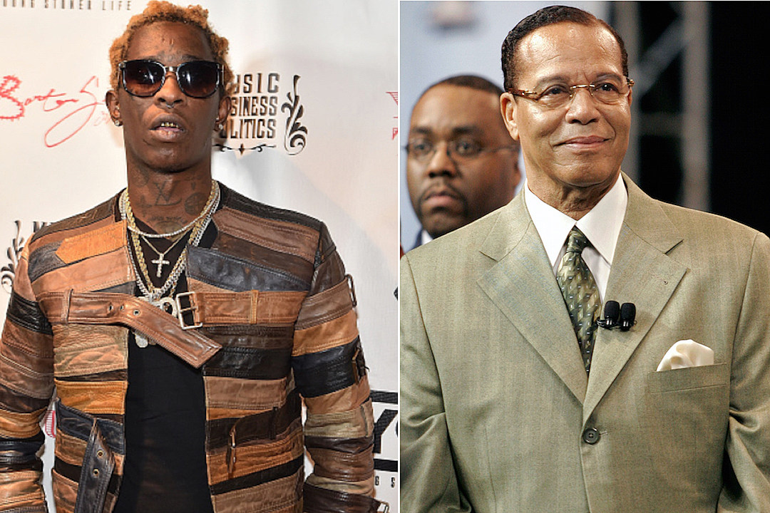 Young Thug Meets With Minister Louis Farrakhan [VIDEO]