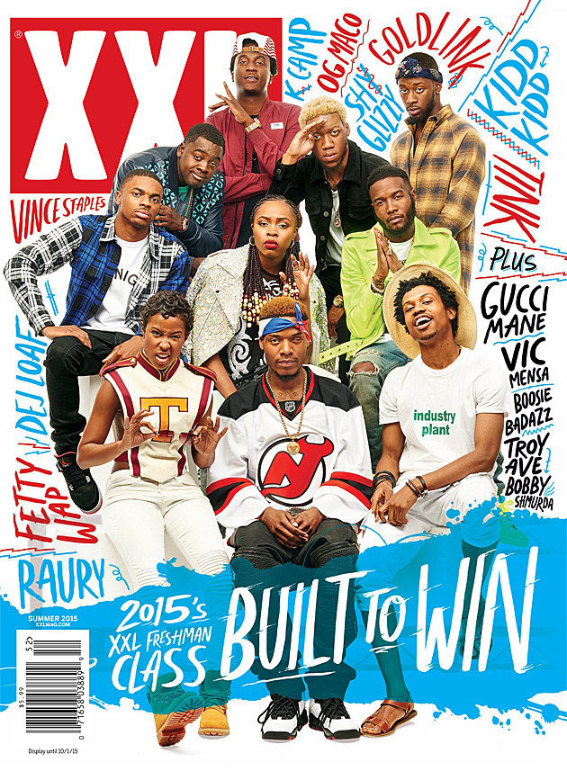 the 2015 xxl freshman cover has been revealed mrpeterparkervision z 107 9. Black Bedroom Furniture Sets. Home Design Ideas