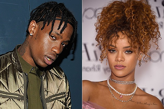 Travis Scott Rihanna